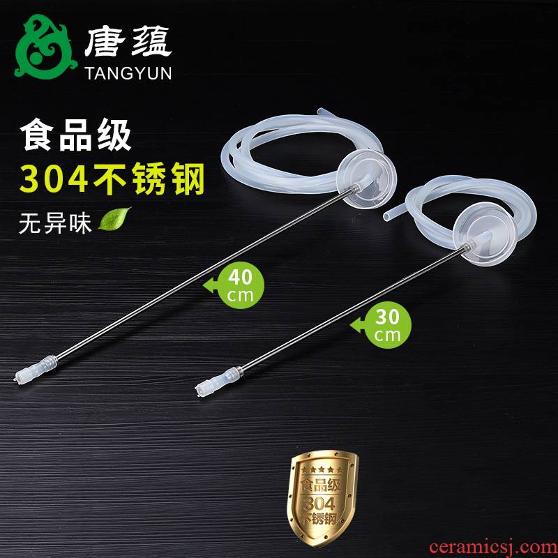 Tea accessories. Bottled water dispenser feed line food - grade silicone hoses on the Tea tray induction cooker, water pipe
