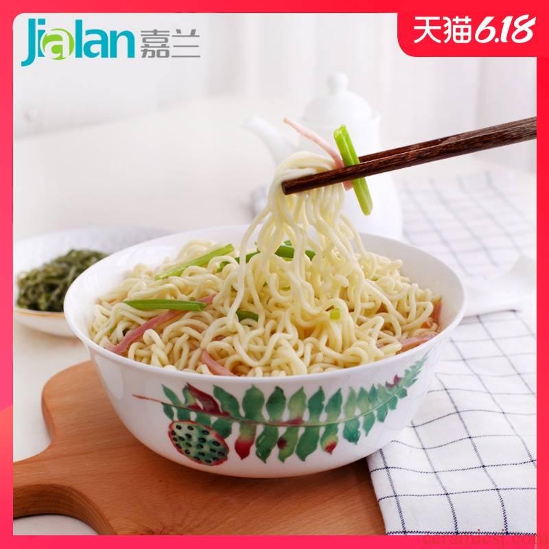 Garland ipads China eat rainbow such as bowl 6 inches large capacity rice bowl noodles big salad dessert botargo ceramic bowl