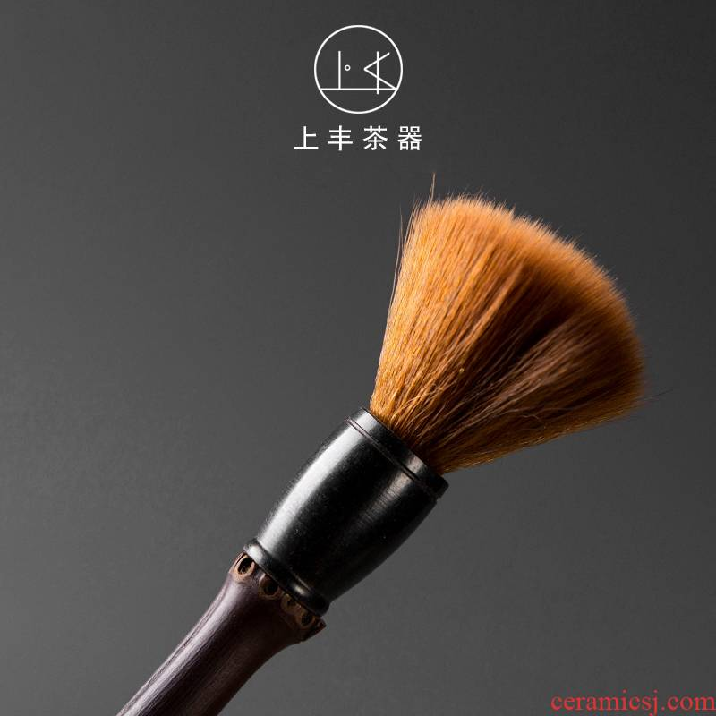 On FengZhu YangHuBi YangHuBi suit six gentleman 's suit brush tea accessories kung fu tea set to zero