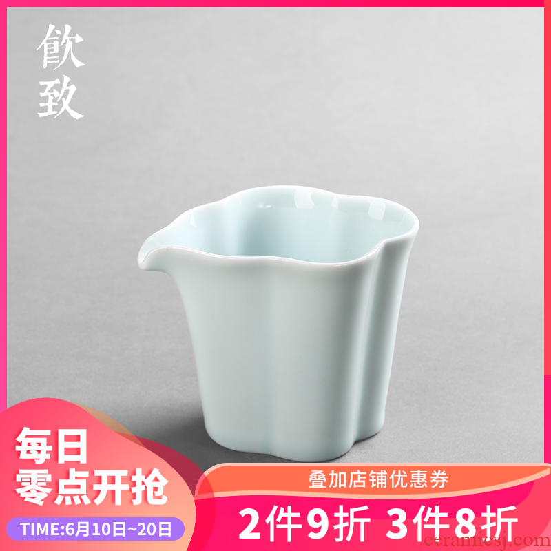 Ultimately responds tea ware celadon ceramics fair keller points to antique tea sea Japanese male cup size cup creative kung fu tea set