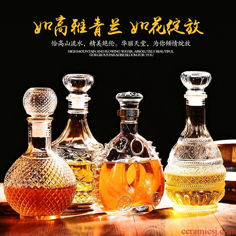 High - grade wine bottle 2 jins of 3 kg 5 jins of special terms bottle is empty bottle of medicated wine liquor bottle container home