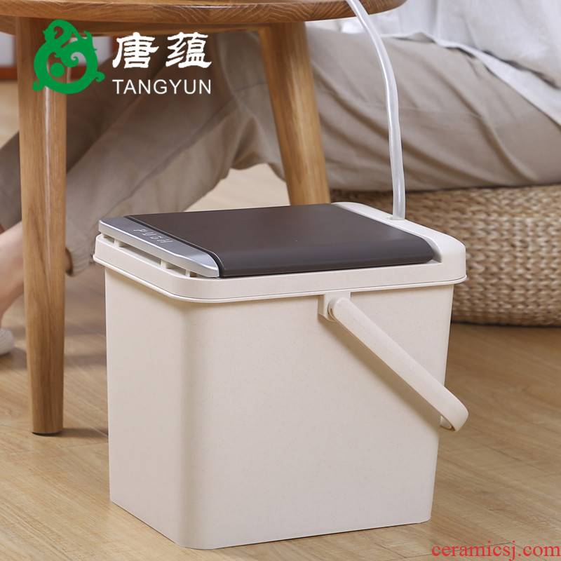 Hot tea barrel by detong bucket bucket of tea tea set the water tank accessories zero with small tea tea tray
