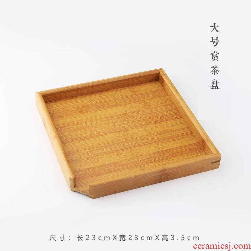 Tea points sample plate parts evaluation of puer Tea cake Tea tray bamboo rack to pry open packet kunfu Tea ware selected appliance