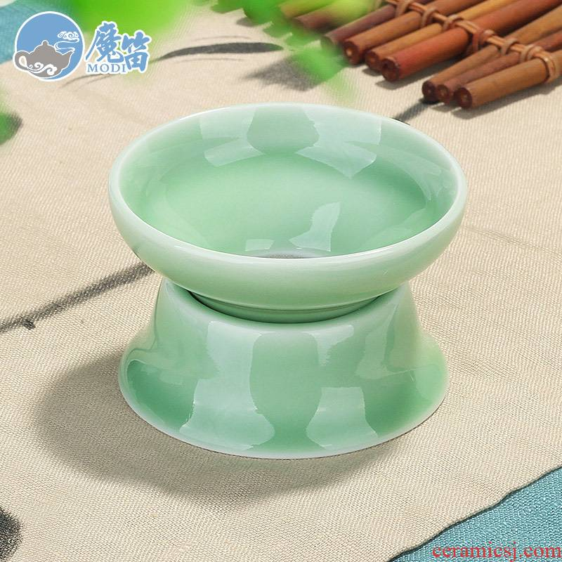 The flute catch tea filter ceramic filter creative tea every other kung fu tea set with parts tea good. A cup of tea