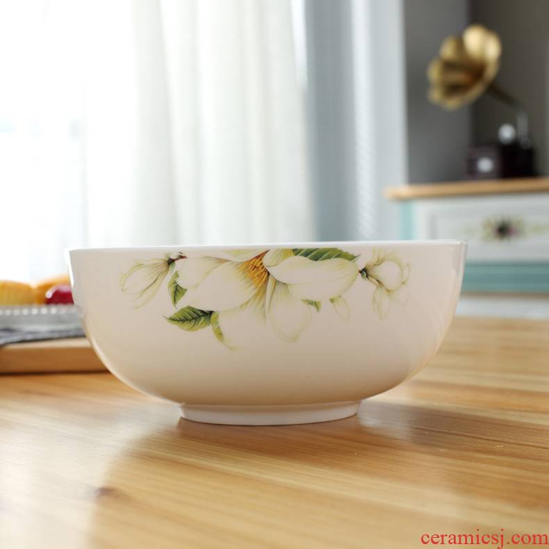 Ipads China rainbow such use 7 inches pull a rainbow such as bowl bowl ceramics jingdezhen porcelain bowls large ipads China large soup bowl