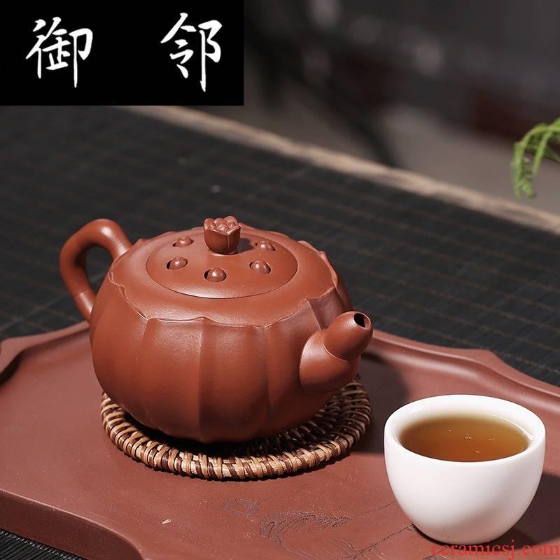 Zw it undressed ore mud zhu pure manual zhi - gang cao lotus lotus seed pot