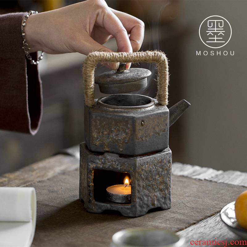 Restoring ancient ways by Japanese tea stove ceramic temperature tea based alcohol lamp teapot heating furnace tea accessories
