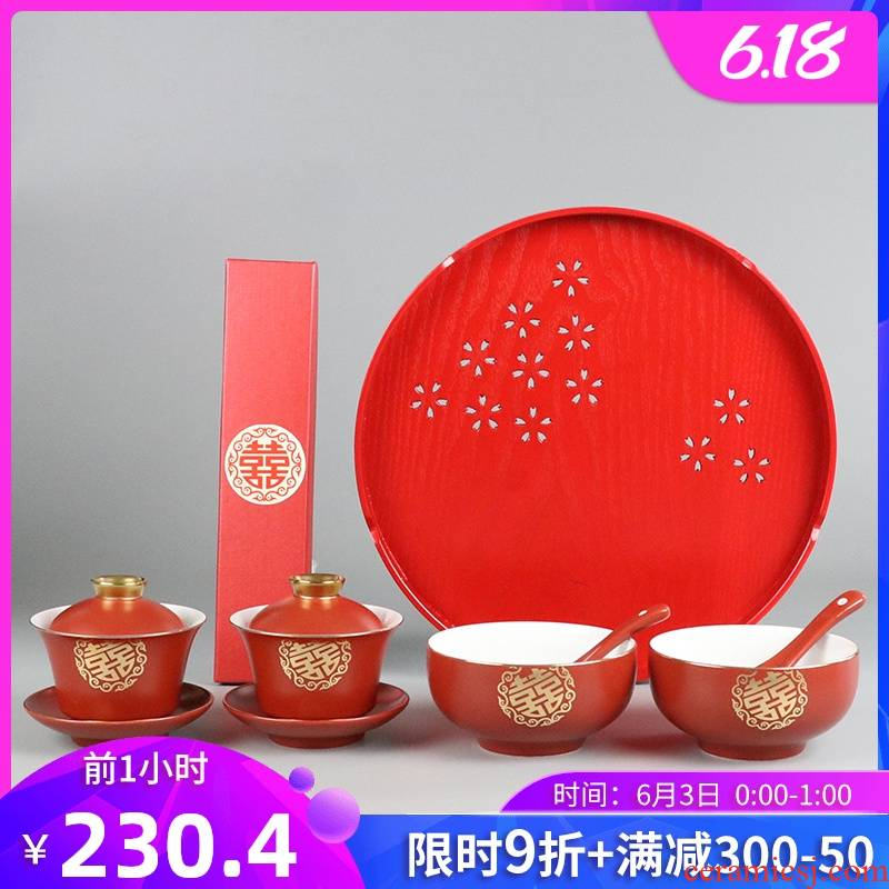 I swim wedding bowl chopsticks suit xi xi cups to the bowl of the picking a wedding gift shifted to worship question gifts cups