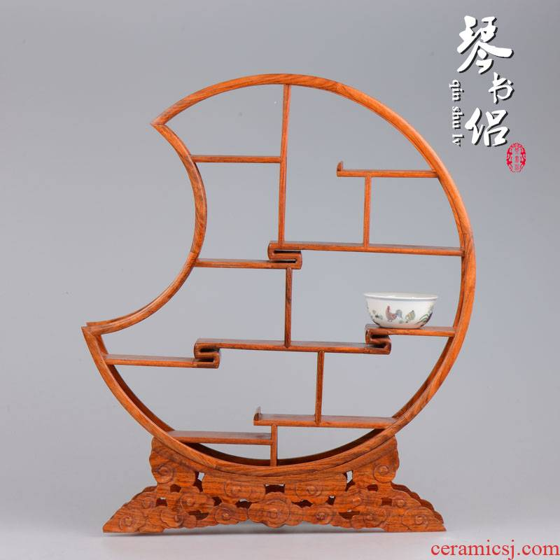 Pianology picking hua limu m letters treasure cabinet little rich ancient frame furnishing articles furnishing articles real wood the teapot frame home decoration arts and crafts
