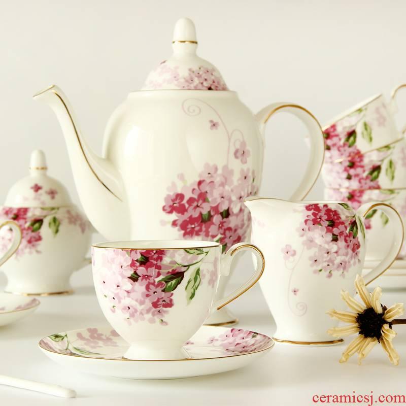 Coffee suit European tea ceramic tea tea sets English Coffee cups and saucers ipads China home