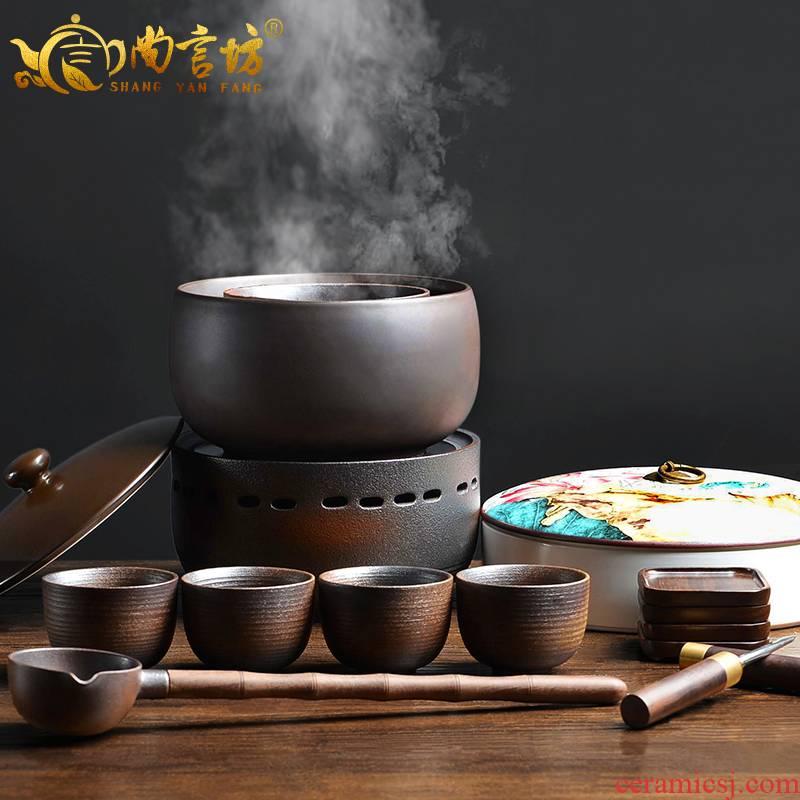It still fang boiling tea ware ceramic kung fu tea tea stove temperature tea Japanese household cooking bowl teapot restoring ancient ways