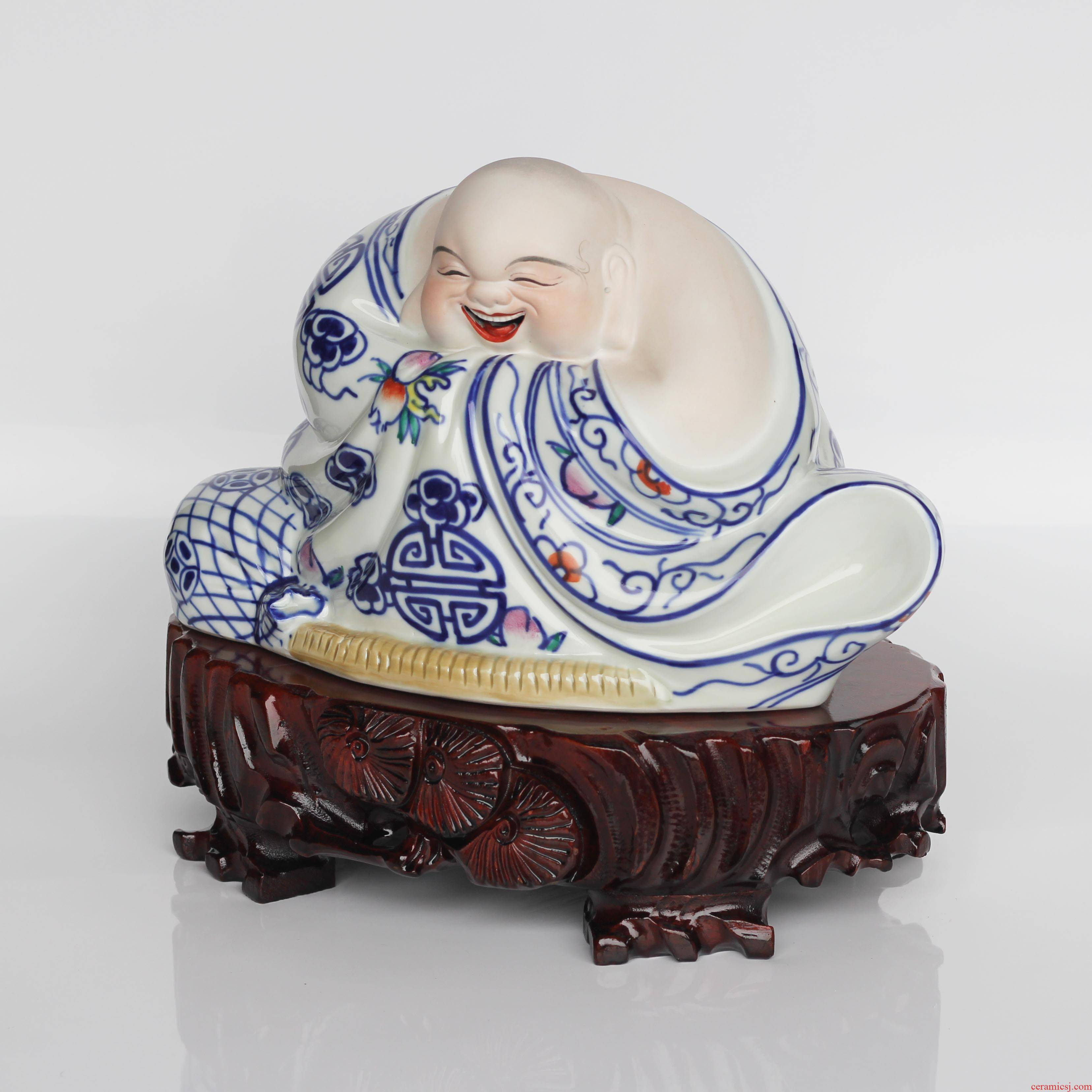 Real wood the oval stone base root carving wood carving jade bonsai Buddha base can be customized can be excavated