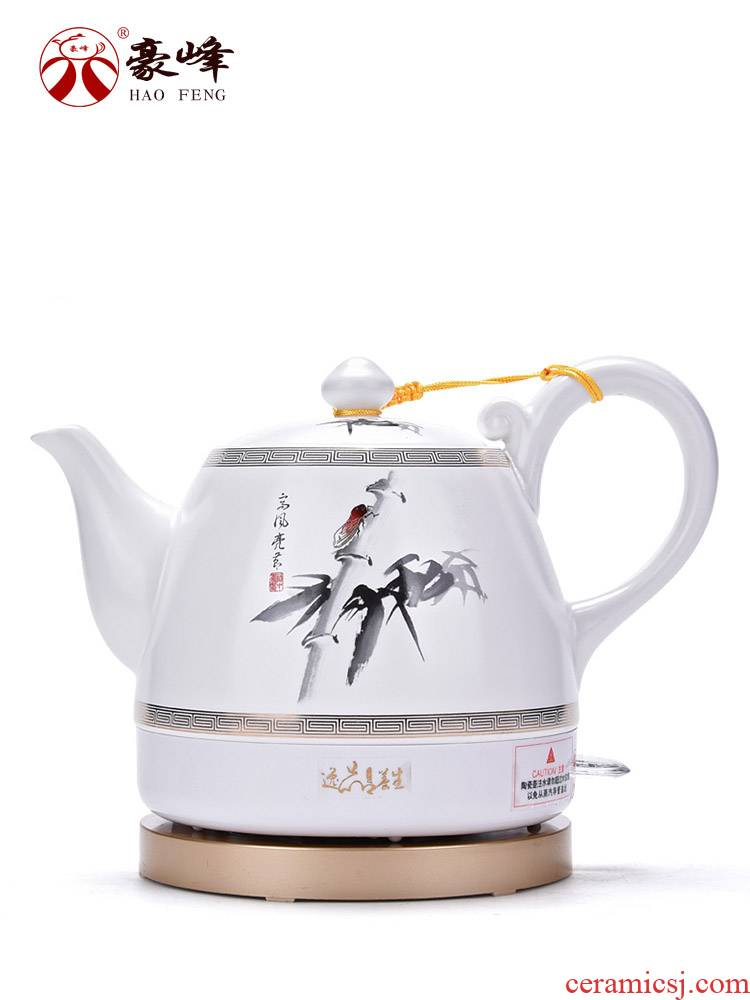 HaoFeng ceramic electric kettle automatically disconnect household kung fu tea kettles kettle health pot of tea