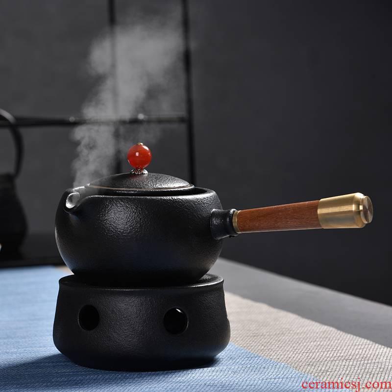 Hong bo gourmet tea pot boiling tea stove ceramic pot of tea kettle kung fu tea set to girder temperature warm tea wine