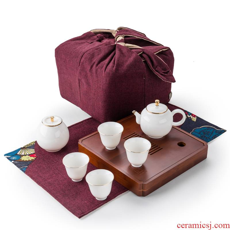 True sheng is suing travel tea set practical creative on - board, tea gift set tea service kit mini gift box
