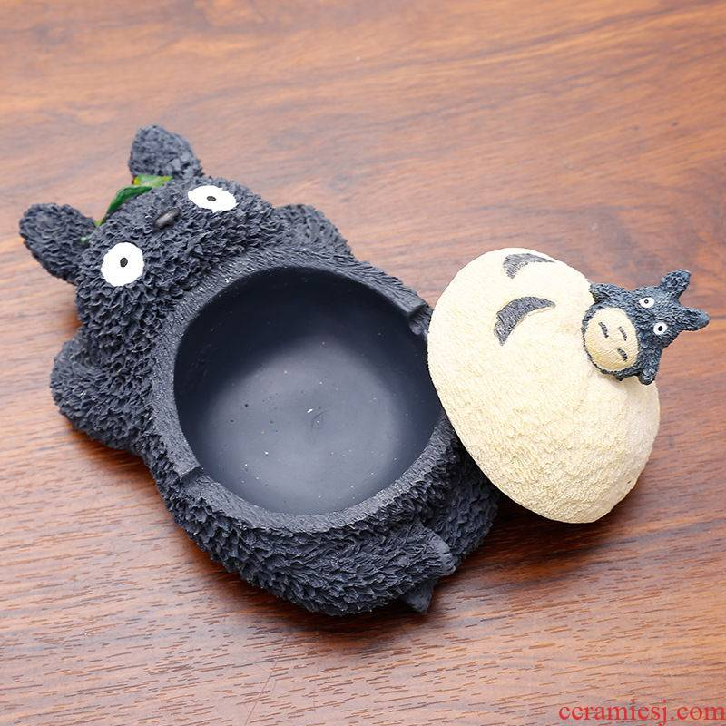 Rhino, with cover of the ashtray ideas against the fly ash decorative home sitting room tea table cartoon character furnishing articles, lovely trend