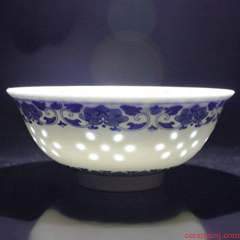 Qiao mu blue - and - white exquisite bowls with 4.5 m jobs 6 inches rainbow such as bowl porringer of jingdezhen ceramics bowl of 10