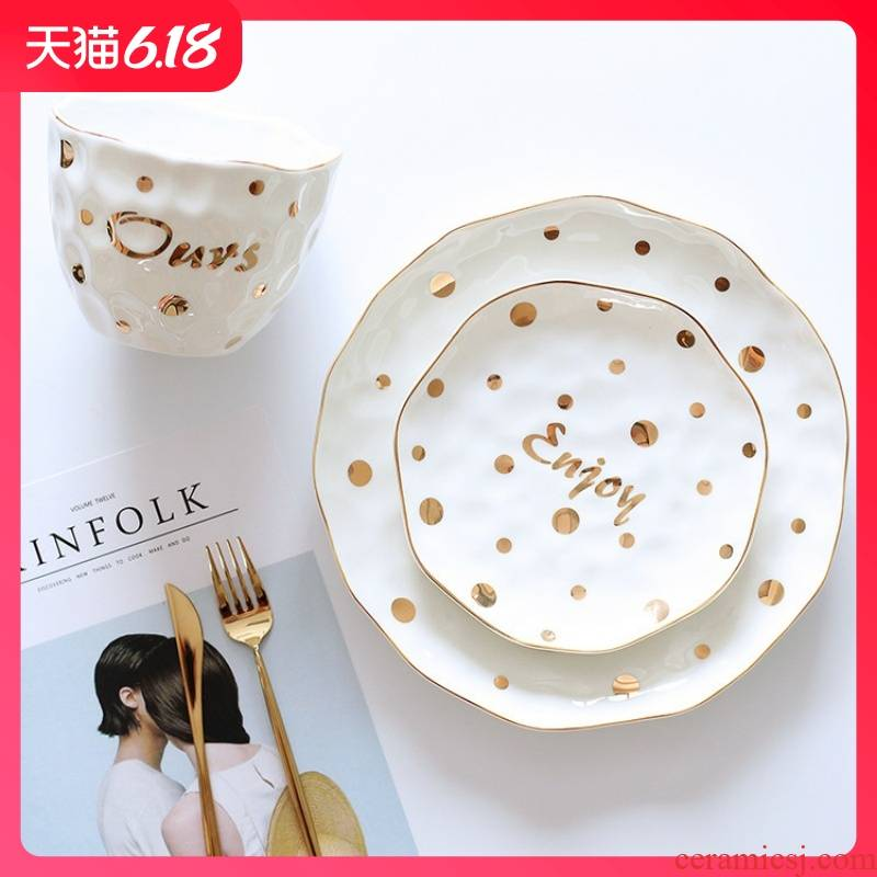 Hold to guest comfortable noble up phnom penh creative style breakfast fruit bump disc enjoy wave point ceramic plate