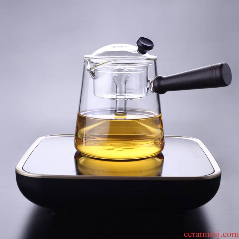 Morning high glass teapot thickening heat - resisting teapot boiled tea steamer cook the teapot tea TaoLu household electricity