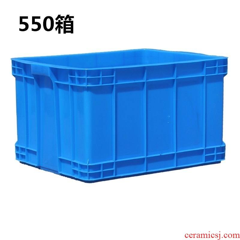 Thickening goosegrass plastic water tank water flow transportation breeding special box rectangular box terms ceramic tile