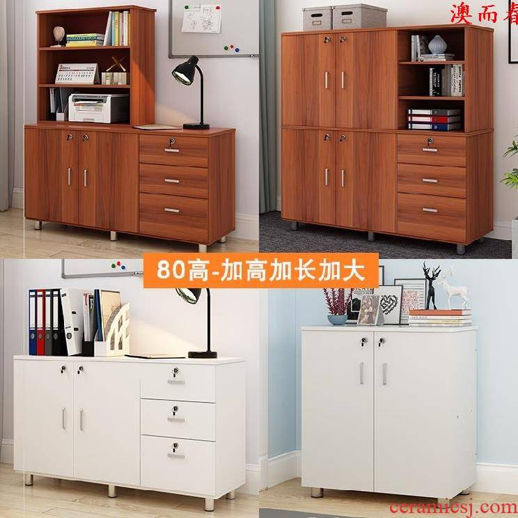 Australia to receive ark, stationery cupboard cabinet office stratification plane economical tea storage tank white contracted type tool