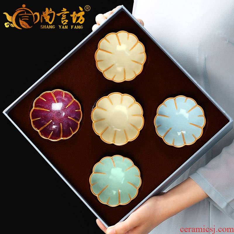 It still fang your up master cup single CPU ceramic cups sample tea cup on kung fu tea tea sets, gift boxes for