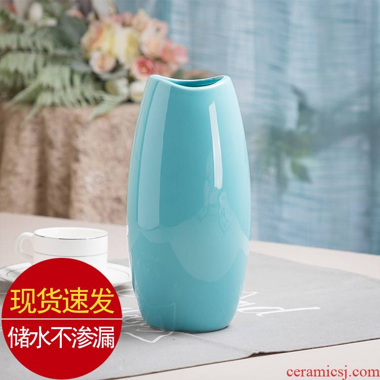 The Nordic contracted and I lucky bamboo hydroponic vase household act The role ofing is tasted wine sitting room adornment creative ceramic furnishing articles