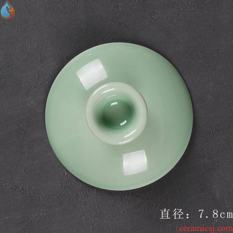Zero match tureen lid cover fashion artistic teacup cover ins good - & tureen lid new large lid