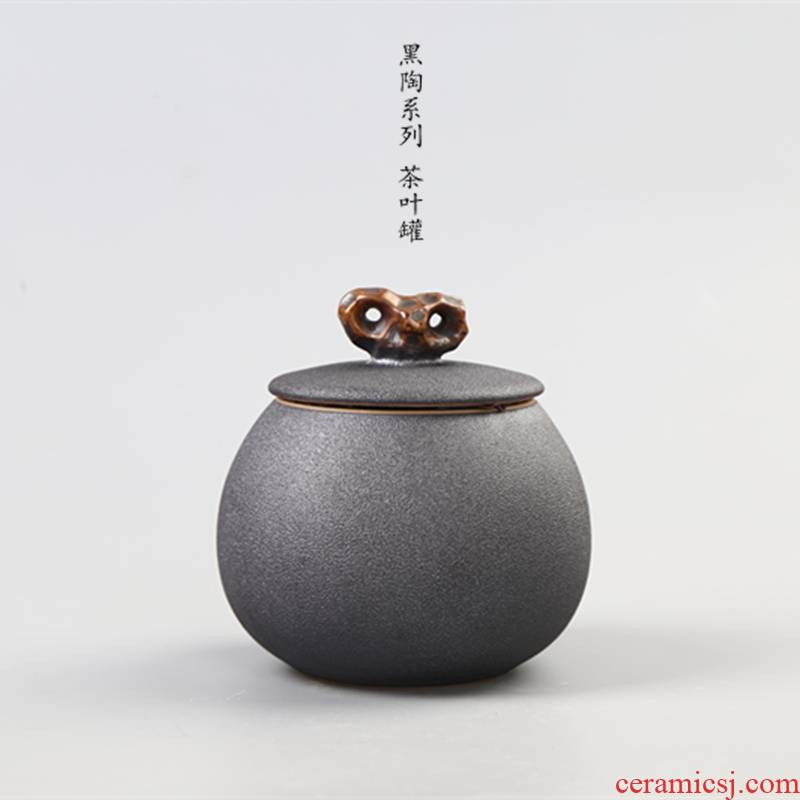 Element at the beginning of coarse pottery caddy fixings your up small warehouse small ceramic POTS awake piggy bank seal tea pu 'er tea