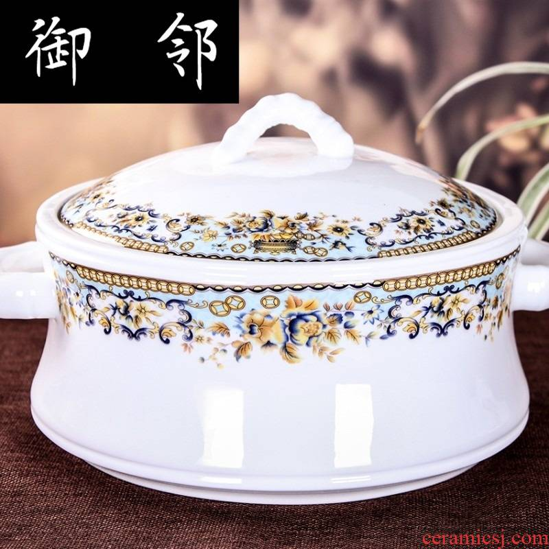 Propagated jingdezhen ceramics 56 head ipads China - glazed in dinner dishes suit household of Chinese style eat bread and butter plate