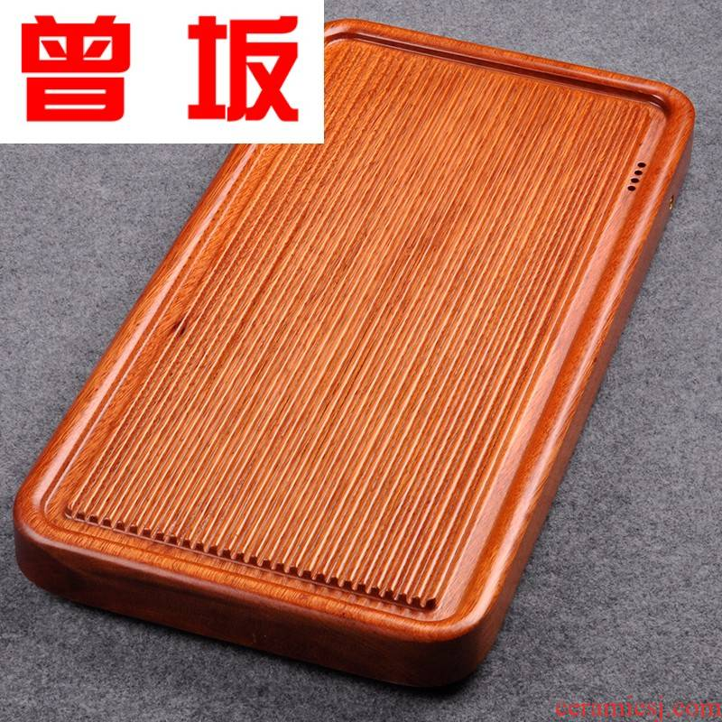 Once sitting rosewood tea piece of solid wood, drainage consolidation natural stone contracted sharply home bakelite teas