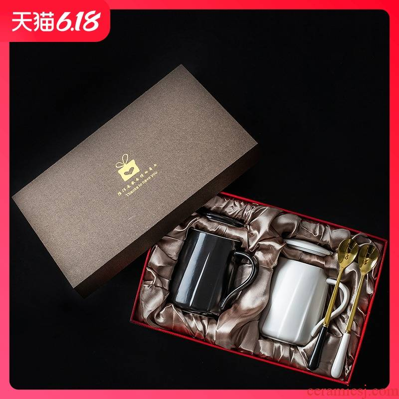 Guest comfortable custom logo resistant ceramic cup home real creative gift cup ins coffee mugs enterprises