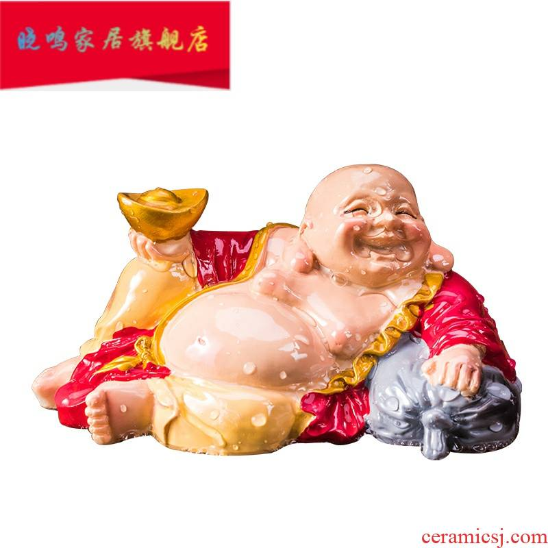 Tea pet furnishing articles furnishing articles discoloration creative kung fu Tea set for its ehrs little monks spray spittor fine Tea Tea pet pig