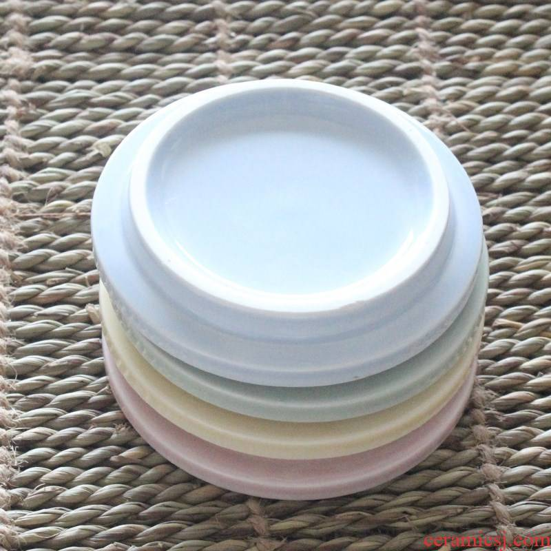 Ceramic cup lid circular lid cover general big cups water mark 9 cm much money without hole, mailed a package