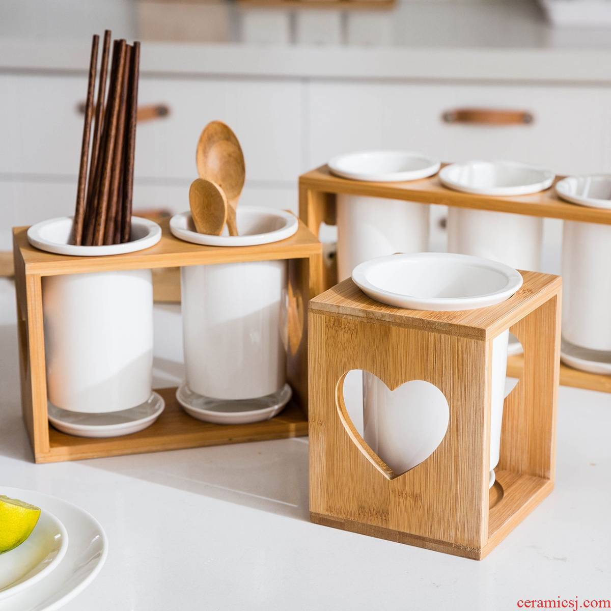 The List of guest kitchen chopsticks chopsticks spoons receive home ceramic drop tube basket rack shelf chopsticks chopsticks
