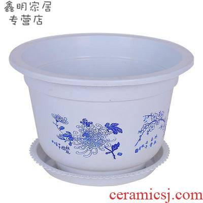 Flowerpot more meat Flowerpot imitation basin Flowerpot more plastic high quality ceramic big Flowerpot more plastic flowers