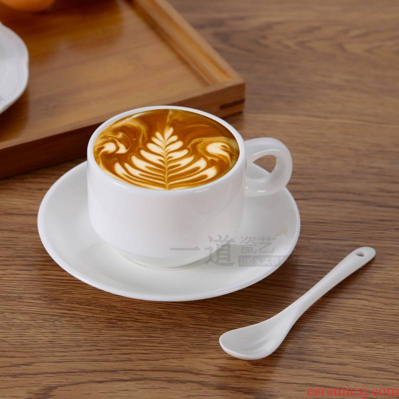 Qiao mu coffee cup set ceramic hotel tableware places cup of milk tea cup contracted coffee cups spent tea cups