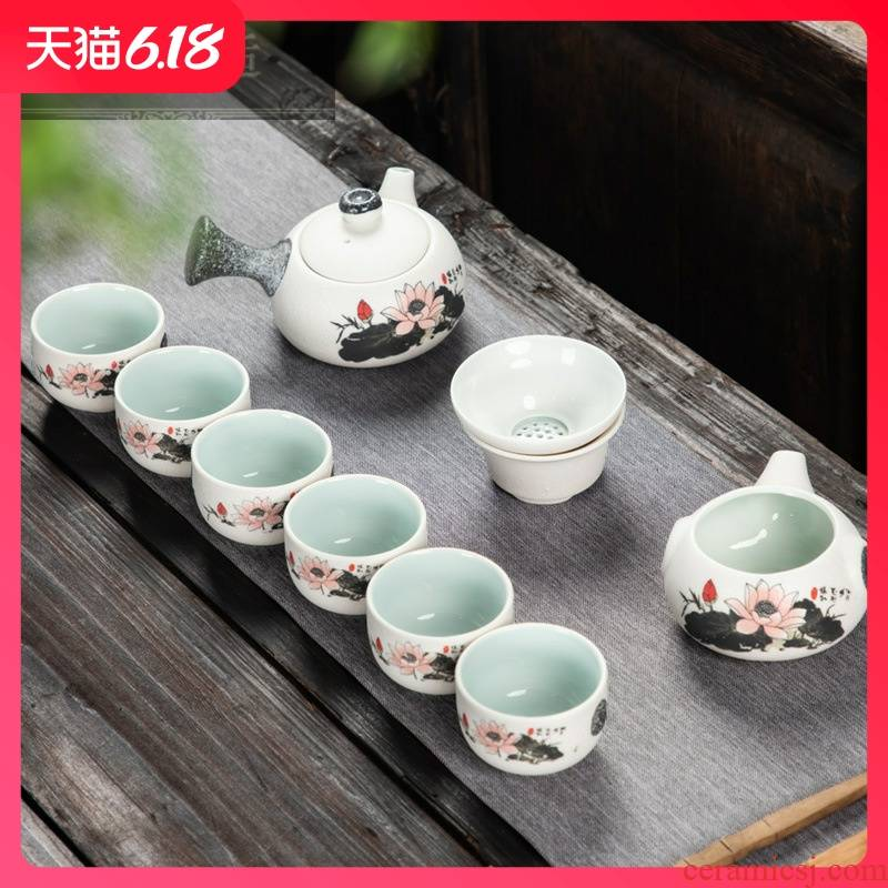 Hold to guest comfortable antique Chinese tea tea tea specials teapot teacup business gifts suit