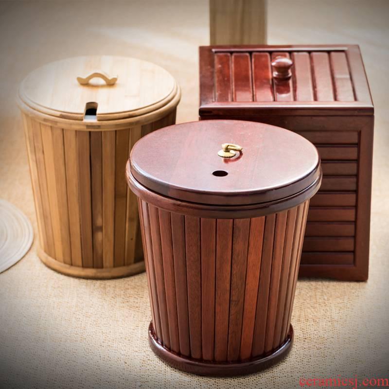 Really sheng hua limu detong dross barrels of bamboo wood household bamboo bamboo detong dross barrels from the bucket