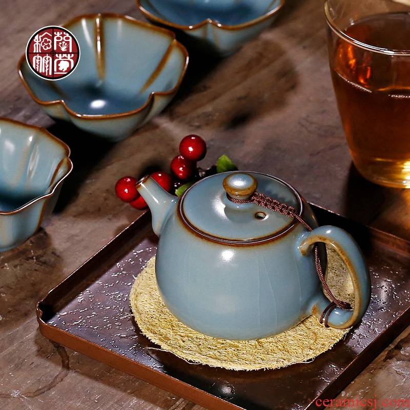 By patterns office teapot ceramics single tea accessories household your up filter single pot teapot kung fu