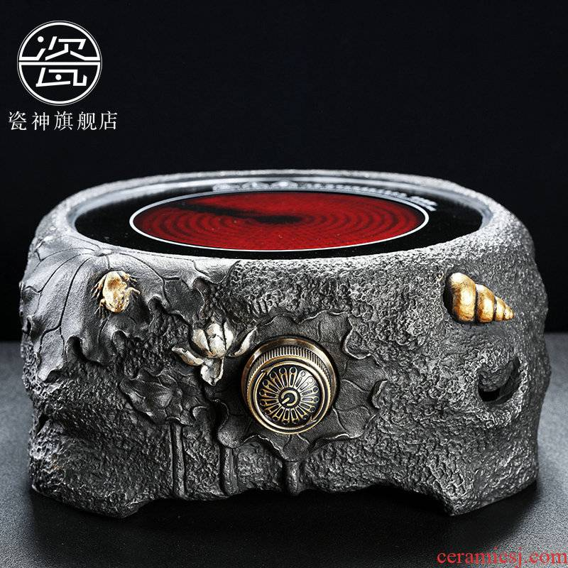 Japanese iron electric TaoLu boiled tea, the porcelain god bottles of tea tea kettle electrothermal furnace accessories boiled tea stove