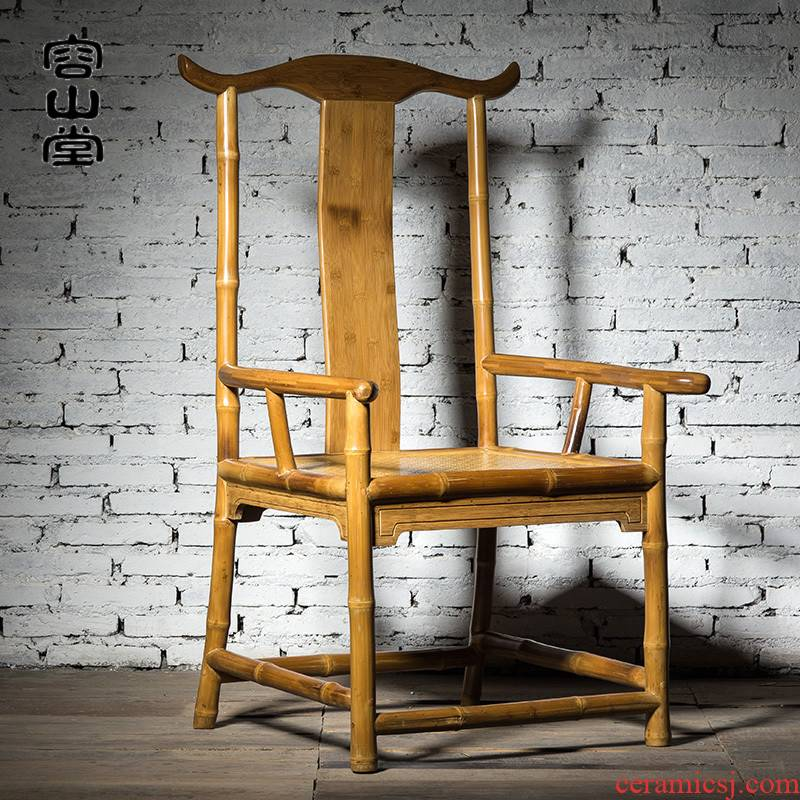 Vatican let bamboo tea bamboo chair imitation yu inscribed wooden slip about new Chinese creative tea table tea room furniture