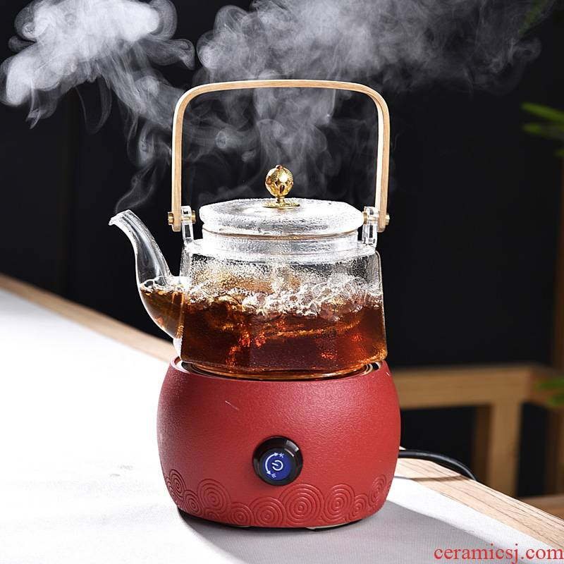 Home cooking tea stove pu - erh tea to burn the teapot Pyrex cooking kettle electrothermal TaoLu suits for steaming tea cups