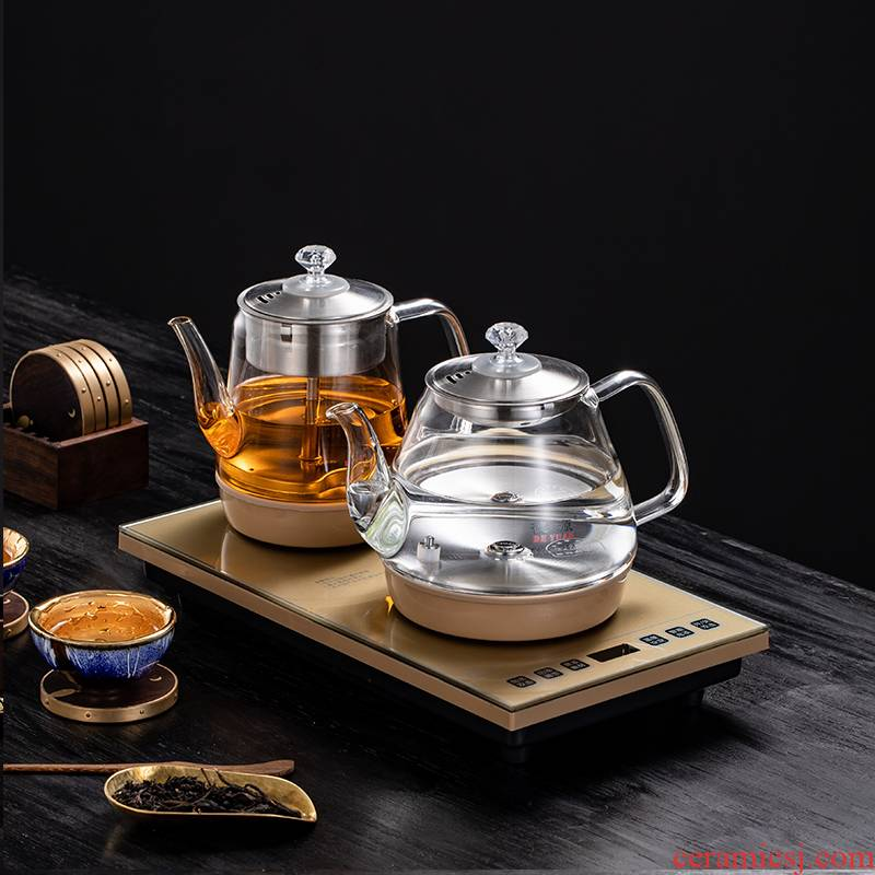 Became high automatic electric kettle water tea special induction cooker tea table with water boiled tea device