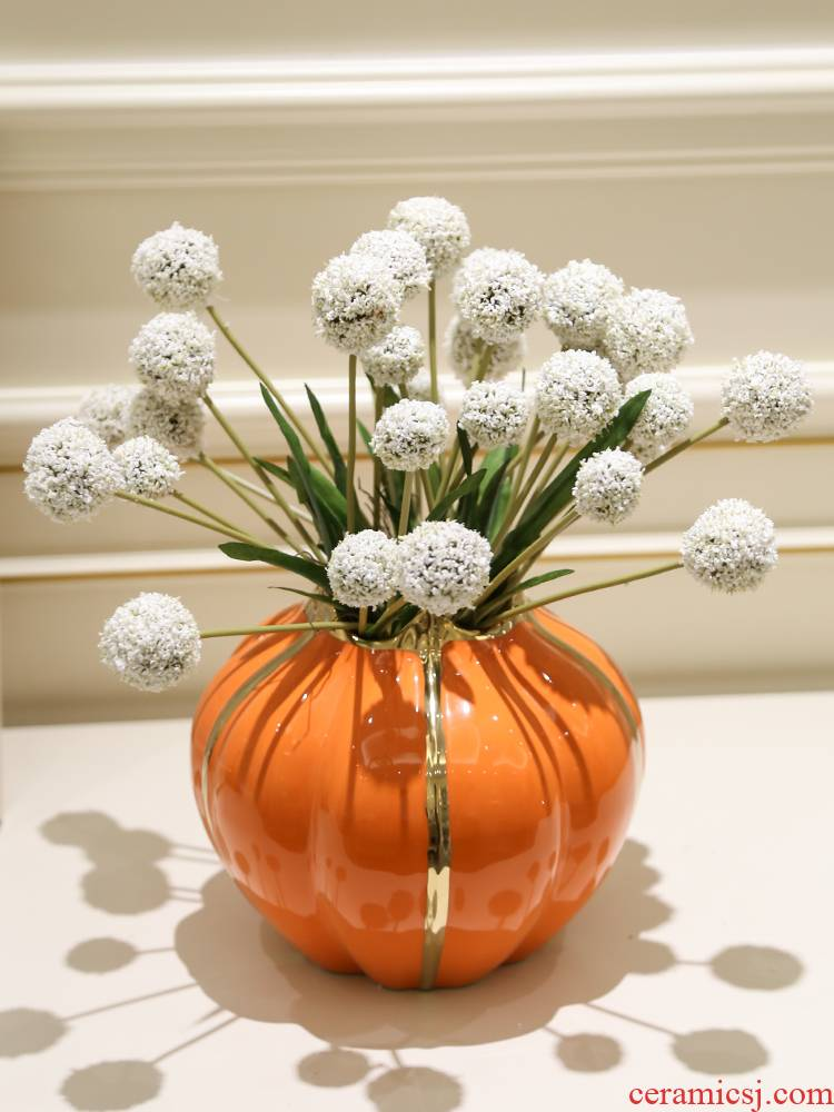 Simulation and dandelion sitting room adornment dry tea table for furnishing articles wedding bouquet table vases, flower decoration