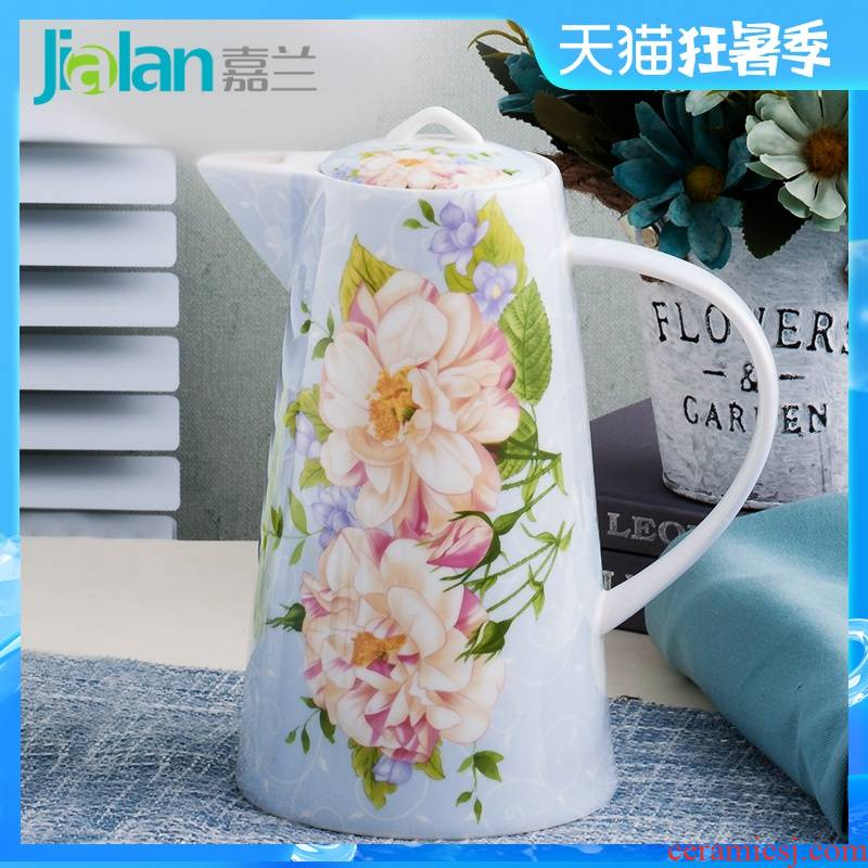 Garland ipads China cold household drinking water kettle pot heat large capacity KaiShuiHu 1 l ceramics