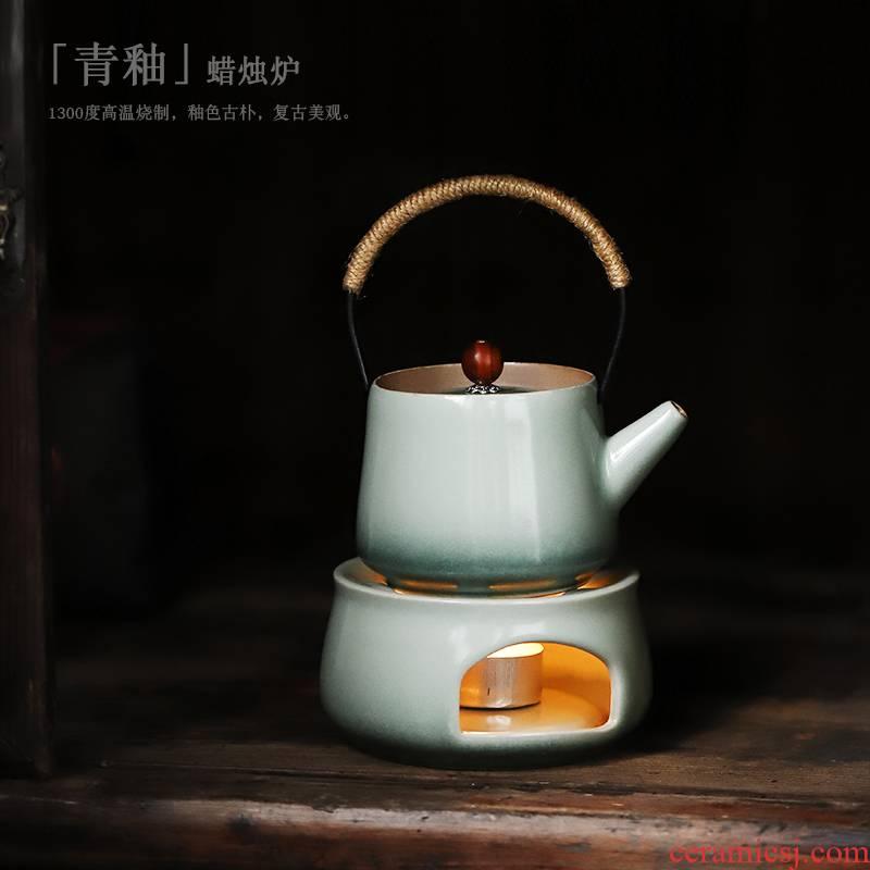 ShangYan Japanese based heating ceramic base tea stove teapot suit make tea tea stove teapot contracted restoring ancient ways