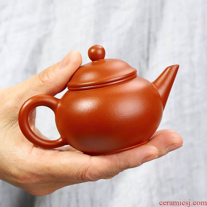 Zhu mud undressed ore level it pure manual teapot chorale ink pot sketch small number yixing purple sand tea set