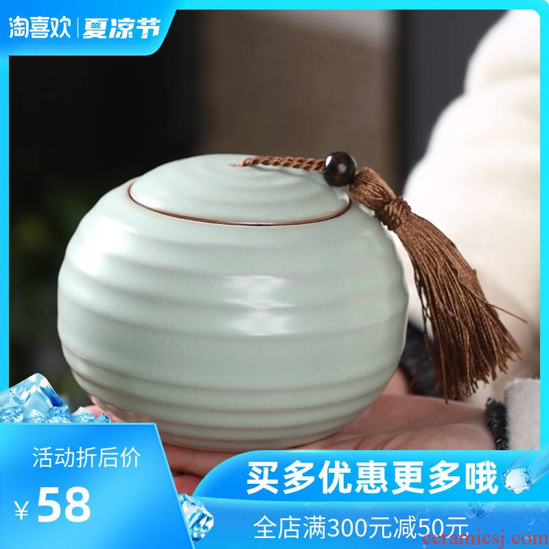 Back economic prosperous household large creative fashion caddy fixings your up slicing can keep POTS hermetic seal medium ceramic pot