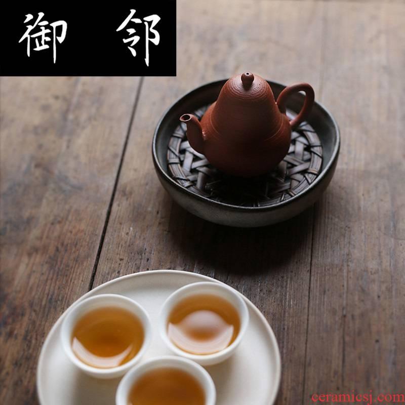 Cy chaozhou hand pot of single clump time kunfu tea vessel, pavilion checking pot zisha teapot pear